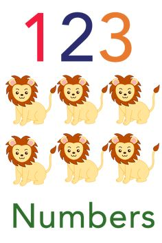 Free flashcards for babies, toddlers, and young children - Learn 123 today! Learning English For Kids, English Lessons For Kids, Toddler Learning, Preschool Learning, Learning Activities, Numbers For Kids, Numbers Preschool, Preschool Letters, Flashcards For Toddlers