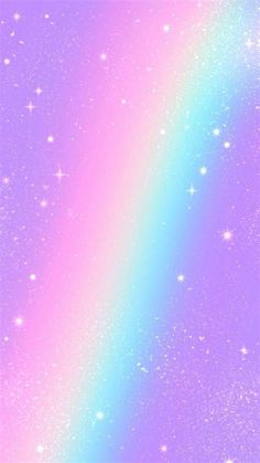 Aesthetic Rainbow Glitter Wallpapers - Wallpaper Cave