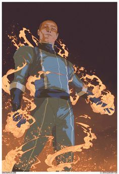 Dave Rapoza. Back in 2014 I worked with Art Director Neri Rivas with 20th Century Fox marketing on the new Fantastic 4 movie. These were all done before we knew what the designs would look like or the tone of the movie.