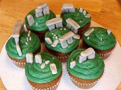 Stonehenge Cupcakes