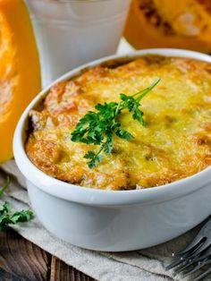 Gratin de potiron au boeuf et parmesan : Recette de Gratin de potiron au boeuf et parmesan - Marmiton