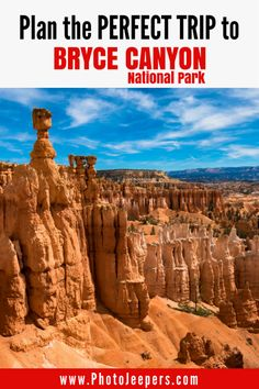 Bryce Canyon National Park is huge and has so much to offer. It can be a bit overwhelming planning a trip, but we have some tips to help you plan the perfect trip to Bryce Canyon National Park, Utah. We share our favorite 15 things to see in the park, our best travel tips, and photography tips to help you make the most of your trip. Don't forget to save this Bryce Canyon National Park guide to your travel board!