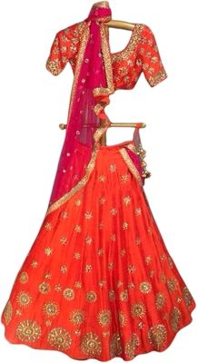 Embroidered Silk, Lehenga Choli, Ethnic, Summer Dresses, How To Wear, Design, Fashion, Moda, Summer Sundresses