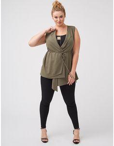 Plus size utility vest by Lane Bryant | Lane Bryant