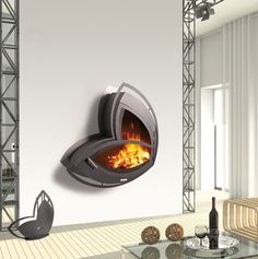 Wall-mount Fireplace