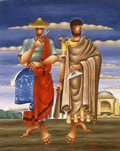 Classical Period, Classical Art, Kai, Greece Painting, Hellenistic Period, National Gallery, Painter Artist, Minoan, Greek Art
