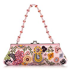 Elegant Cotton with Multicolor Beading Evening Handbag/Clutches(More Colors) – EUR € 16.49