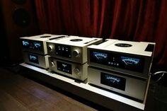 High end audio audiophile T&A HV serie