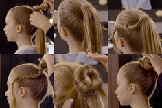 Bun torsade à réaliser soi-même ! Tuto coiffure by BaByliss Paris