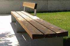 Bancal bench by LandscapeForms. $1500