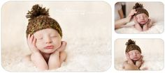 Tips for safety during newborn photography session (ways to pose baby safely and photoshop it later)
