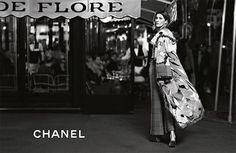 Gisele Bündchen na campanha da Chanel