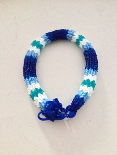 Hexafish 6pin fishtail bracelet Rainbow loom made by Angel143Smile