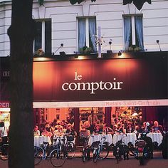 Where to Eat: Paris: Le Comptoir du Relais. Go for lunch... no reservations required.