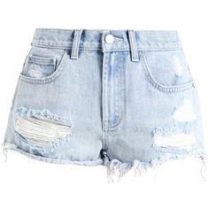 Billabong JUST ME Denim shorts (210 BRL) ❤ liked on Polyvore featuring shorts, jean shorts, billabong, billabong shorts, denim shorts and short jean shorts