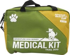 This dog-specific kit gives you comprehensive medical solutions for your trail buddy. It is catered to the types of injuries dogs encounter most on the trail – primarily to their paws, with an assortment of dressings, bandages, and tools like the splinter picker/tick removers to remove ticks, thorns, or those pesky fox tails.