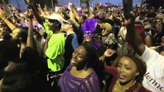 Purple Rain sung by thousands in New Orleans