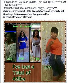 Congratulations Rhonda! Rhonda is so excited as she should be and she shares that  Yes all my Share if you like. Products used are the ones for last 2 months I have been consistently with Resolution, Delgada coffee, NRG To get started on your own journey order here www.totallifechanges.com/DonnaAnderson id=3424411