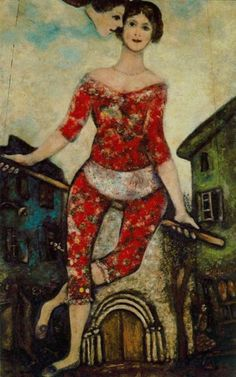 Marc Chagall. The acrobat 1930