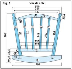 Haute couture tags and tables on pinterest for Plan de chaise en bois gratuit