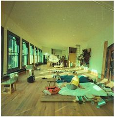 bedroom of donald judd, 101 spring st- 1970s