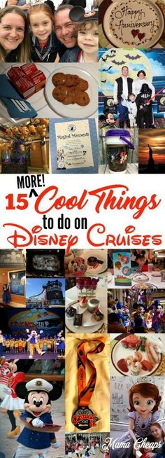 Are you going on a Disney Cruise (or dreaming of going on one)? Here are 8 cool things to do on your Disney Cruise that will add to your vacation fun! Disney Cruise Line, Disney Halloween Cruise, Disney Fantasy Cruise, Disney Magic Cruise Ship, Halloween 2018, Cruise Travel, Cruise Vacation, Disney Vacations, Cruise Tips