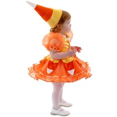 Candy Corn Princess Infant / Toddler Costume 62162