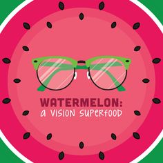 It's National Watermelon Day! Watermelon is an excellent source of vitamin A, which protects against macular degeneration, night blindness, and other age-related eye problems!