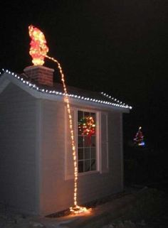 Naughty Santa-you should do this at your house @Nancy Pecora