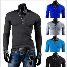 men-s-v-neck-ring-prong-bucklet-shirt