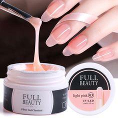 Gel Manicure Nails, Gel Nail Art, Acrylic Nails, Nail Polish, Repair Broken Nail, Nail Extensions Acrylic, Fast Nail, Fibre Gel, Uv Glue