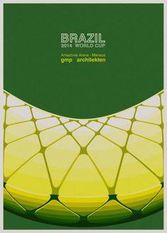Amazônia Arena em Manaus | ilustração André Chiote
