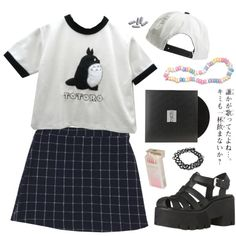 """totoro"" by grimess on Polyvore"