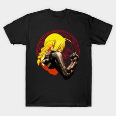 YELLOW HAIR ALCHEMIST T-Shirt #teepublic #tee #shirts #clothing #anime #manga #fashions #edward #elric