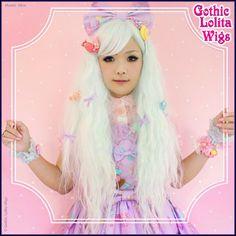 Rhapsody™ in Mint - Gothic Lolita Wigs Store