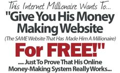 Make Money Online with confidence! Register for free,Change your finance for good! http://www.myadvertisingpays.com/ref.asp?Spon=4672