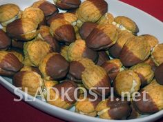 Mrkvové mušličky dia Diabetes, Pretzel Bites, Sweet Recipes, Sprouts, Sugar Free, Bread, Baking, Fruit, Vegetables
