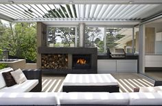 Get cooking on your awesome outdoor kitchen design ideas. See more ideas about outdoor kitchen design ideas, outdoor kitchen design plans, outdoor kitchen design for small space. Outdoor Fireplace, Outdoor Kitchen Design, Outdoor Entertaining Area, Alfresco Designs, Kitchen Design Plans, Outdoor Kitchen, Outdoor Rooms, Outdoor Design, Outdoor Furniture Sets