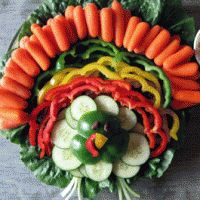 Turkey Vegetable Tray!
