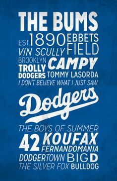 LA Dodgers Poster!