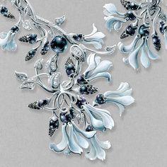 Fashion Illustration Tutorial, Jewelry Design Drawing, Spring Plants, Jewelry Illustration, Jewellery Sketches, Designs To Draw, Jewelry Art, Diamond Jewelry, Jewelery