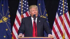 INDIANAPOLIS, Ind. (April 20, 2016) – Presidential hopeful Donald Trump took the stage to thunderous applause and cheers Wednesday at the Indiana State Fairgrounds. Speaking in front of a crowd of …