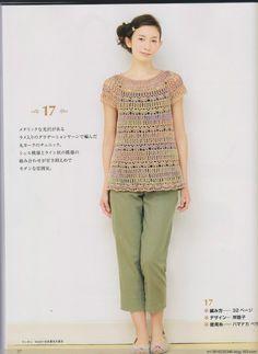 Marisabel crochet: túnicas