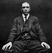 Harry Price, the founder of paranormal investigation. If you don't know who he is, you have no idea about this field.
