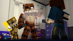 Minecraft - WHO'S YOUR DADDY? - BEBÊ ANIMATRONIC MEDROSO ( Five Night's ...
