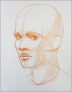 How to Draw a Portrait in Three Quarter View, Part 8
