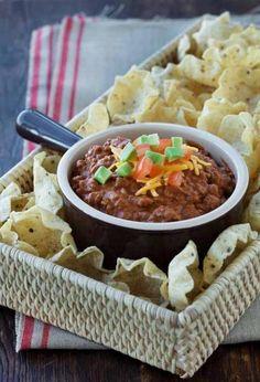 Fiesta Beef and Bean Dip