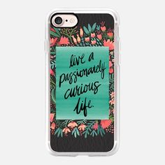 Passionately Curious Life (Charcoal) - Classic Grip Case