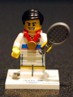Olympic Lego tennis #LEGO lego