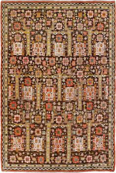 Vintage Swedish Rug Scandinavian Rug 45521 http://nazmiyalantiquerugs.com/antique-rugs/swedish-kilim/